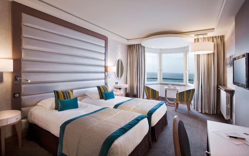 Hotel séminaire : chambre vue mer