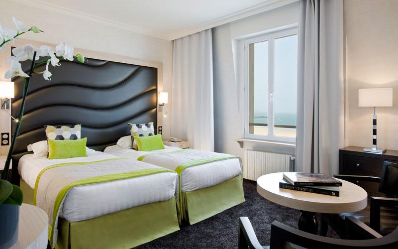 chambre d'hotel pour un seminaire - escale mer