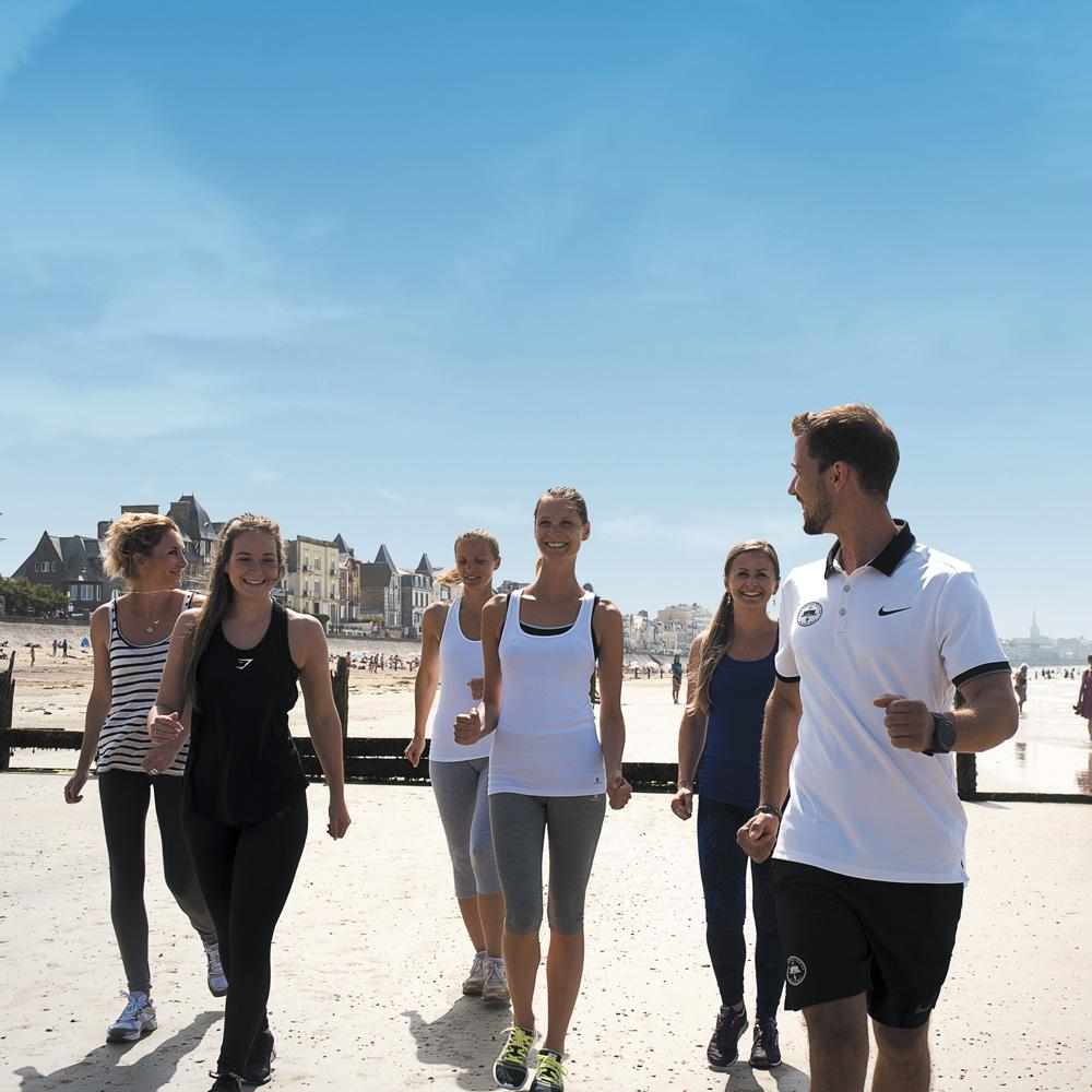 Activité Beach Training