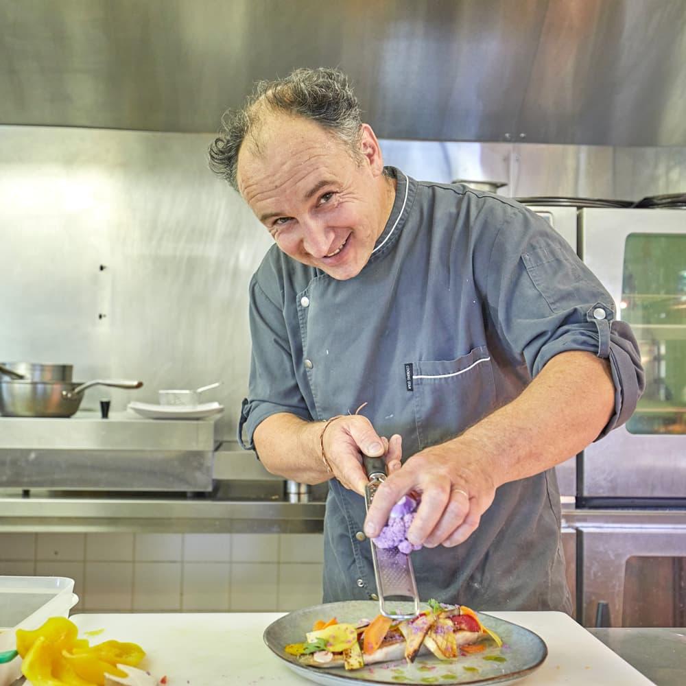 Daniel LE GUENAN, chef du restaurant du Saint Malo Golf Resort