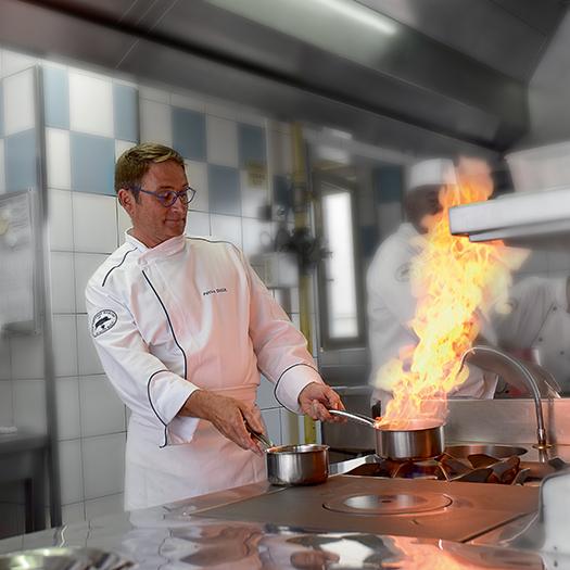 Patrice Dugué - Chef restaurant Le Cap Horn - Saint-Malo