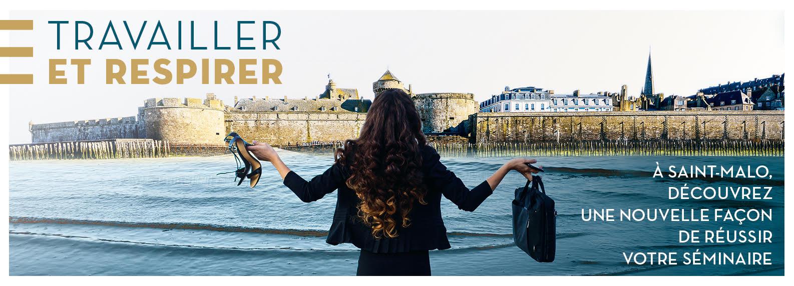 Travailler et respirer : seminaire à Saint-Malo